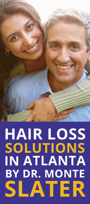 Hair Restoration is possible for men and women. Hair Loss Solutions by Dr. Monte Slater