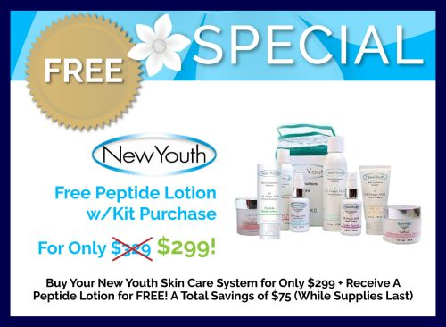 Free Peptide Lotion w/ Kit Purchase