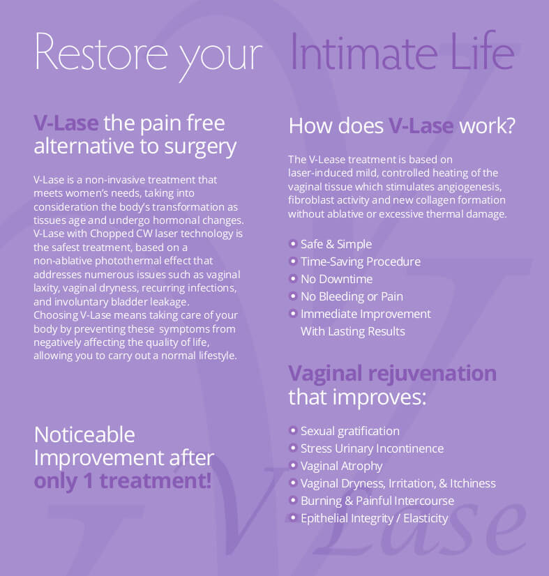 V-Lase Treatments