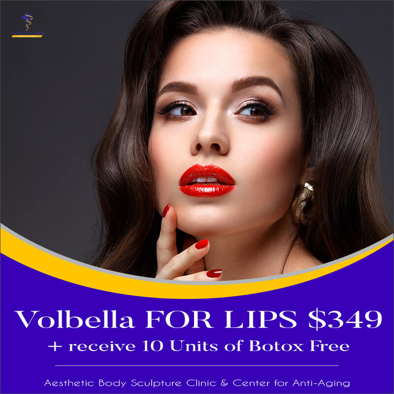 Volbella For Lips $349 and Receive 10 Units of Botox Free