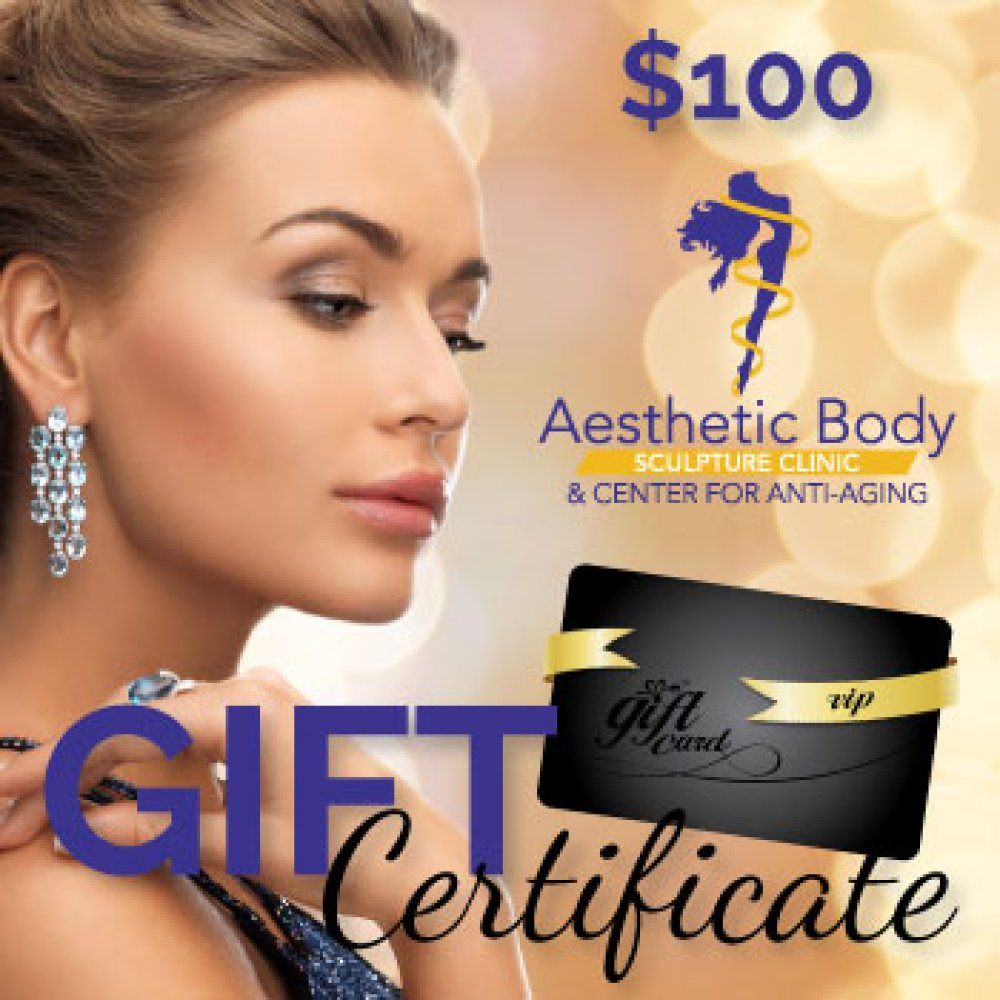 Buy a $100 Gift Certificate for your loved one today!