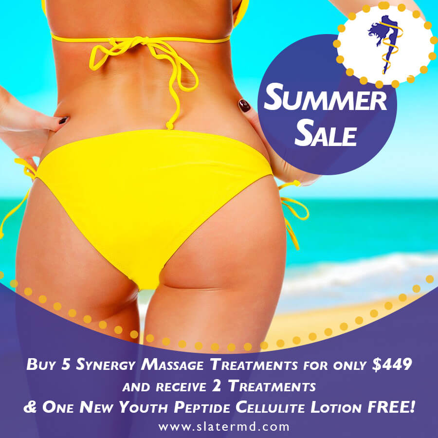 "Synergy massages ""minimize"" cellulite"