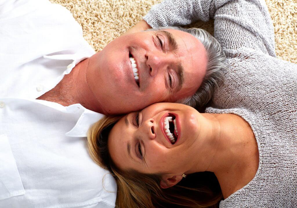 older couple feeling revitalized from PRP Platelet Rich Plasma Therapy