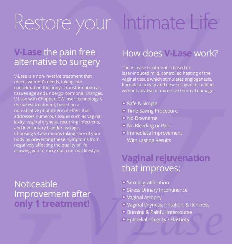 V-Lase Treatments