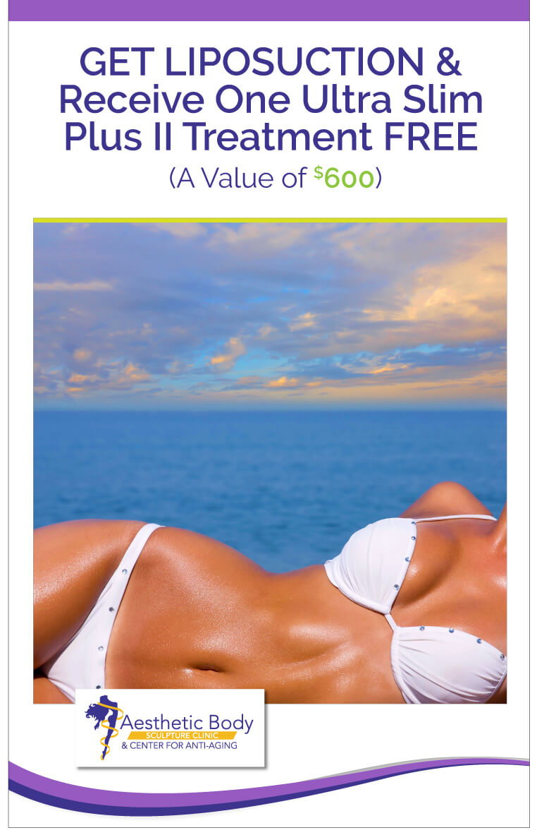 SlaterMD Specials Get a Free Ultra Slim Plus Treatment FREE with Liposuction