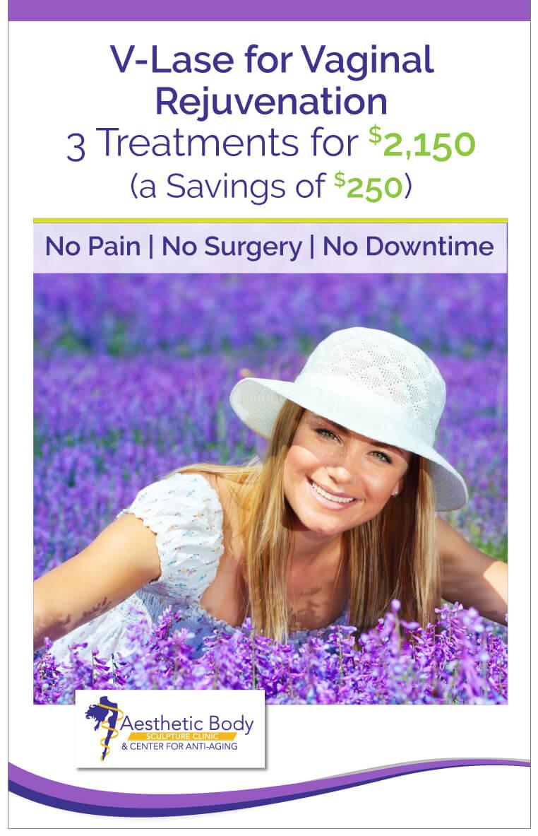 SlaterMD Specials Save on V-Lase for Vaginal Rejuvenation
