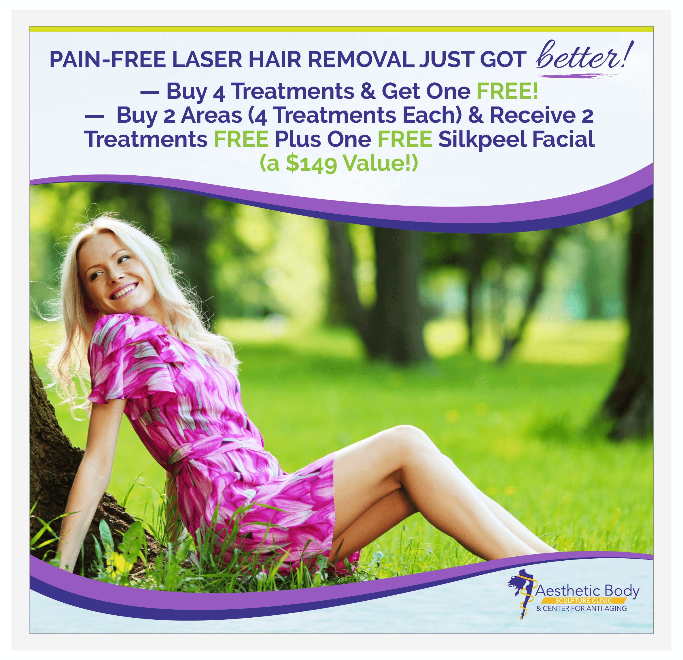 SlaterMD May and June Laser Hair Removal Special