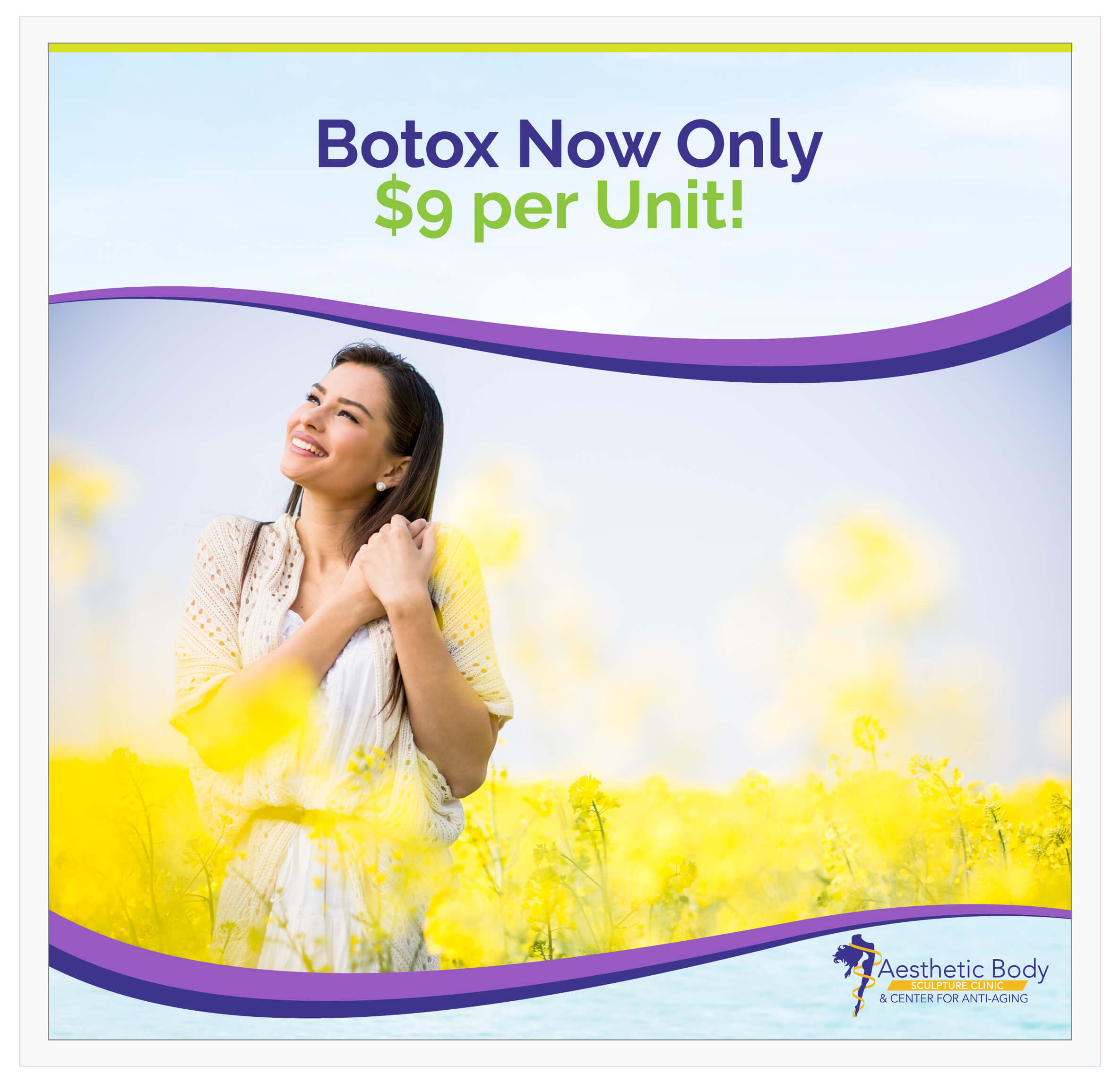 SlaterMD May and June Botox Special