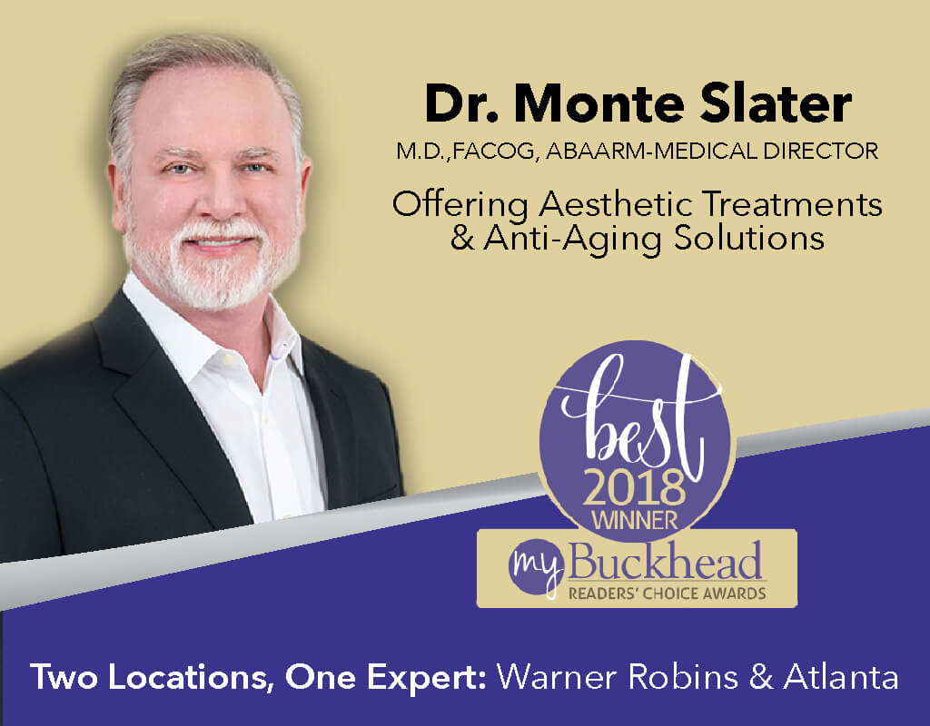 Dr. Monte Slater offers Sculptra Injectable treatments in Warner Robins and Atlanta