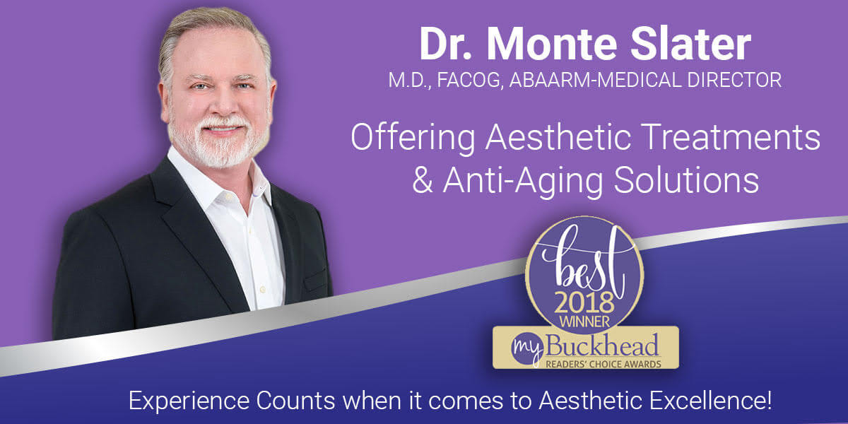 Dr. Monte Slater is our Medical Director and Bioidentical Hormone Replacement Expert in Atlanta and Warner Robins
