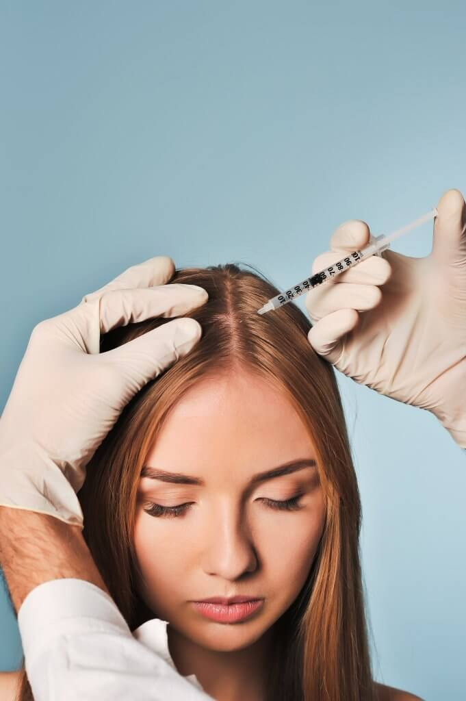 PRP Therapy for Hair loss in men and women can be effective for the right candidate says Dr. Monte Slater.