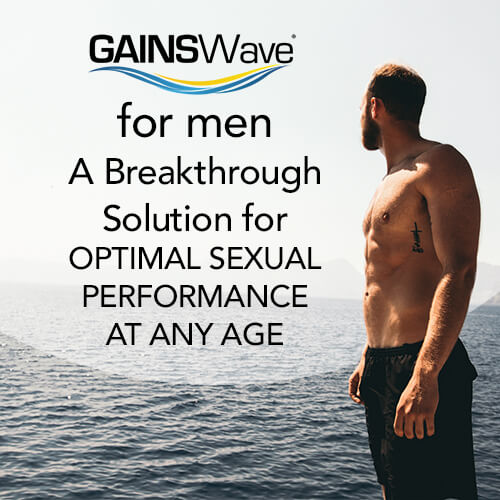 GAINSWAve for Male Enhancement for Erectile Dysfunction