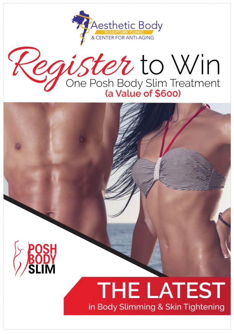 Register to Win One Posh Body Slim Treatment