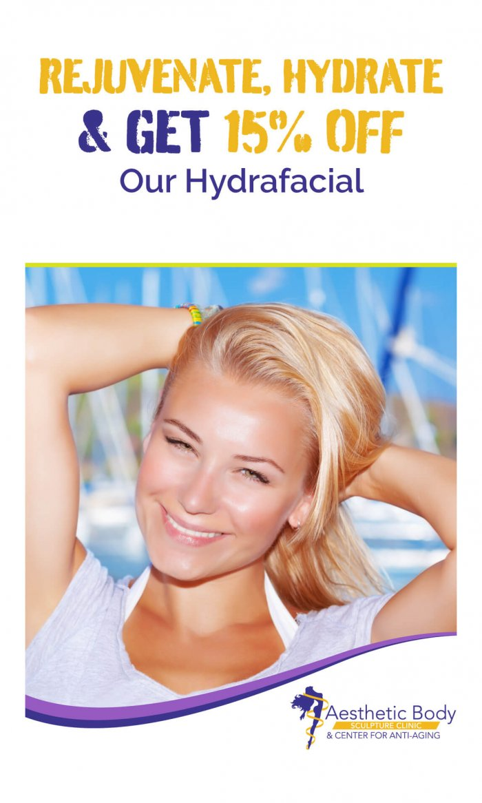 Rejuvenate, Hydrate & Get 15% Off Our Hydrafacial