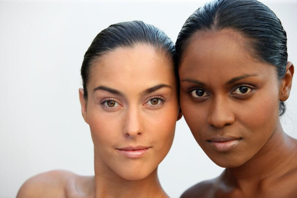 The Motus AX Laser Hair Removal System and the CoolPeel Laser Treatments now offered at Aesthetic Body Sculpture Clinic Treat all complexions ! 2 beautiful multi-ethnic women are featured on this image