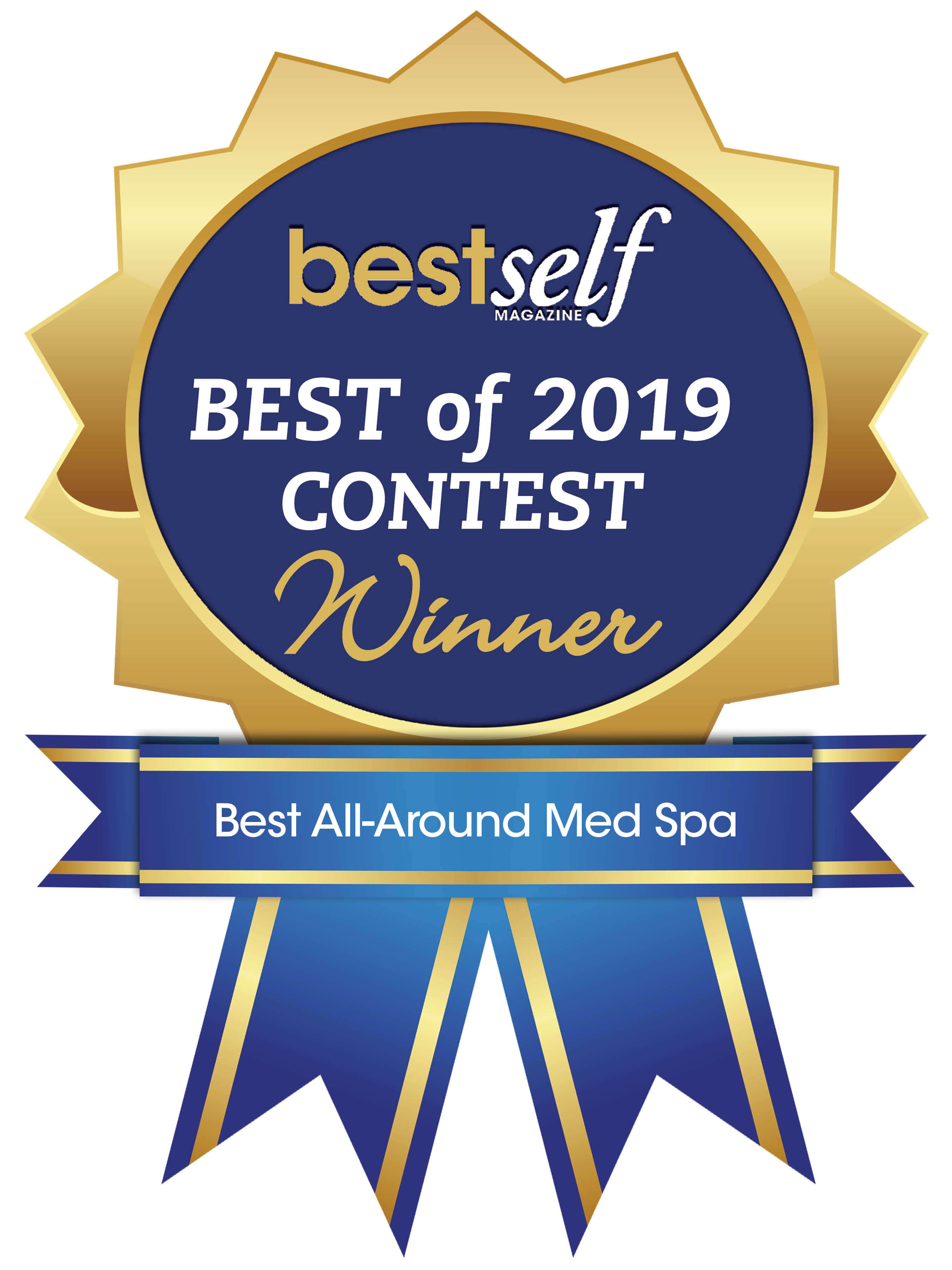 Best Self Ribbon 2019 for Aesthetic Body Sculpture Clinic and Center for Anti-Aging