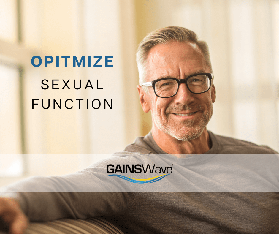 Optimize performance for men with GAINSWave offered by Dr. Monte Slater