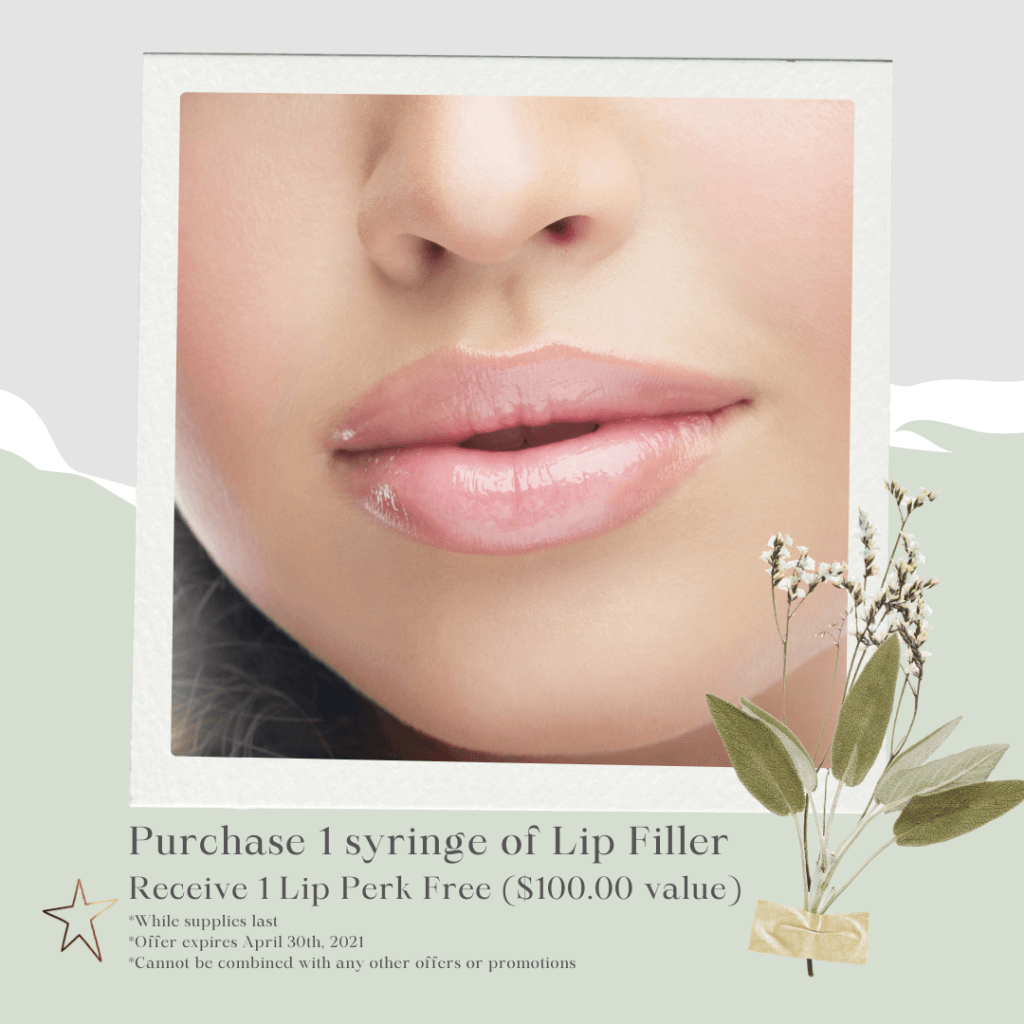 Lip Filler March 2021 Specials offered by Dr. Monte Slater